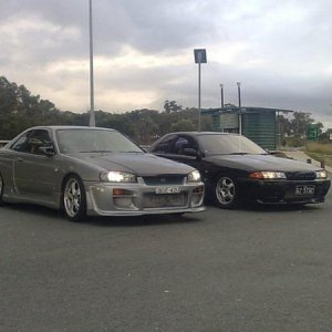 My R34 and My Old R32