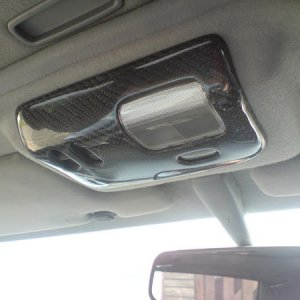 carbon map light cover fitted 002